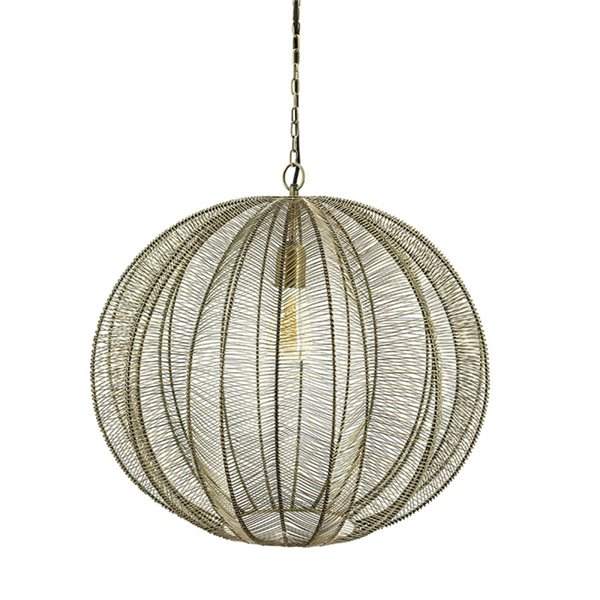By-Boo Hanglamp Floss large - goud - 53 cm x 48 cm